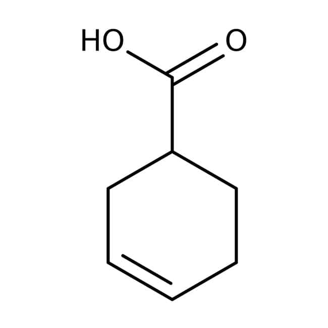 3-Cyclohexenecarboxylic acid, 97%, ACROS Organics™: Organic Building Blocks Chemicals