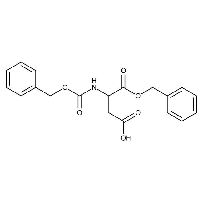 Alfa Aesar™N-Benzyloxycarbonyl-L-aspartic acid 1-benzyl ester, 95% 5g Alfa Aesar™N-Benzyloxycarbonyl-L-aspartic acid 1-benzyl ester, 95%