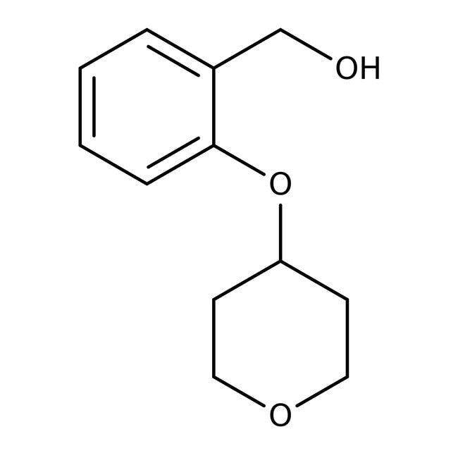 [2-(Tetrahydropyran-4-yloxy)phenyl]methanol, 97%, Maybridge™