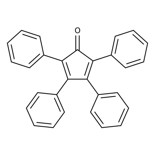 Tetraphenylcyclopentadienone, 99%, ACROS Organics™ 100g; Glass bottle Tetraphenylcyclopentadienone, 99%, ACROS Organics™