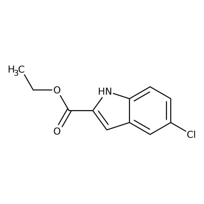 Alfa Aesar™Ethyl 5-chloroindole-2-carboxylate, 98%