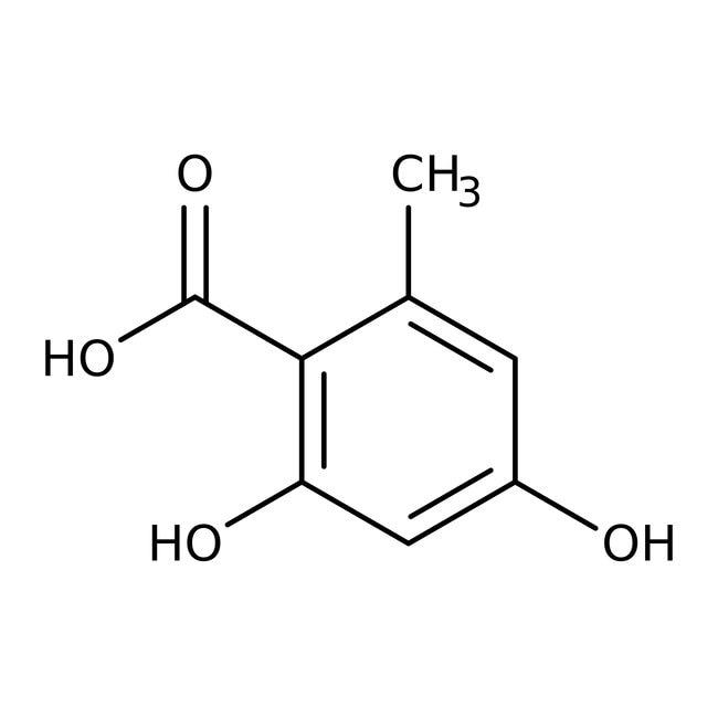 o-Orsellinic acid monohydrate, 98%, ACROS Organics™  o-Orsellinic acid monohydrate, 98%, ACROS Organics™