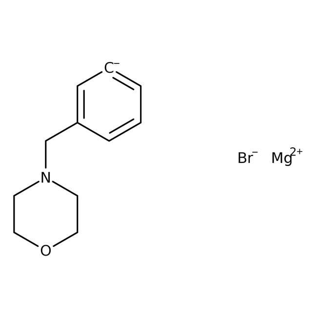 [3-(4-Morpholinylmethyl)phenyl]magnesium bromide, 0.25M solution in THF, AcroSeal , Acros Organics
