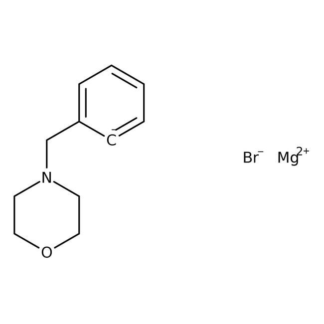 [2-(4-Morpholinylmethyl)phenyl]magnesium bromide, 0.25M solution in THF, AcroSeal , Acros Organics