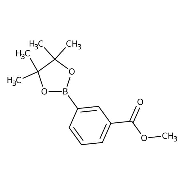 Methyle3-(4,4,5,5-tetramethyl-1,3,2-dioxaborolan-2-yl)benzoate, 97%, ACROS Organics