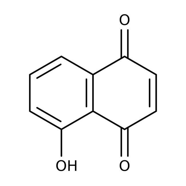 5-Hydroxy-p-naphthoquinone, 97%, ACROS Organics™