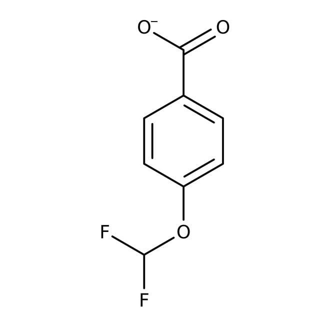 Alfa Aesar™4-(Difluoromethoxy)benzoic acid, 98+% 1g Alfa Aesar™4-(Difluoromethoxy)benzoic acid, 98+%