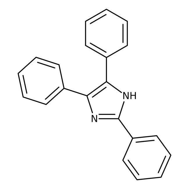 Alfa Aesar™2,4,5-Trifenilimidazol, 97 % 250g Alfa Aesar™2,4,5-Trifenilimidazol, 97 %