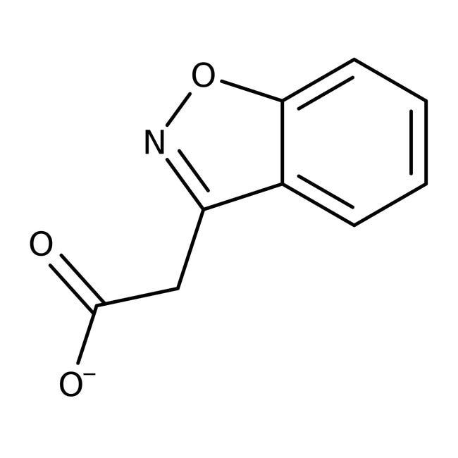 2-(1,2-Benzisoxazol-3-yl)acetic acid, 97%, Maybridge Amber Glass Bottle; 250mg 2-(1,2-Benzisoxazol-3-yl)acetic acid, 97%, Maybridge