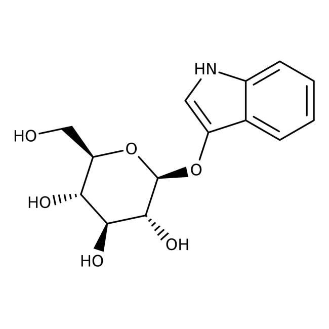 Indoxyl-β-D-glucoside, 98%, Acros Organics™ 250mg Indoxyl-β-D-glucoside, 98%, Acros Organics™