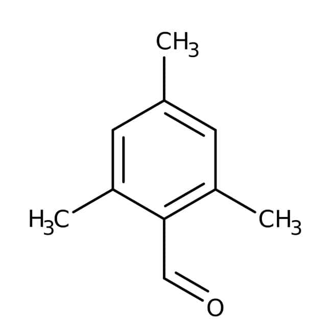 Mesitaldehyde, 97%, ACROS Organics™ Glass bottle; 10g Mesitaldehyde, 97%, ACROS Organics™