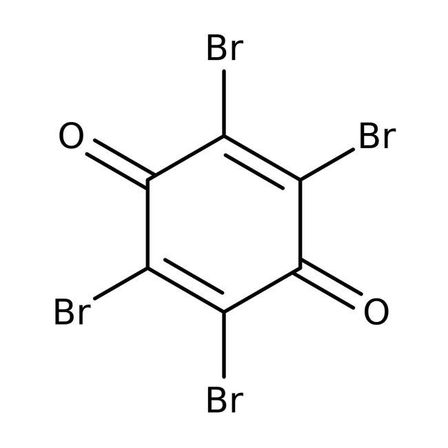 Tetrabromo-p-benzoquinone, 95%, ACROS Organics™ 1g; Glass bottle Tetrabromo-p-benzoquinone, 95%, ACROS Organics™