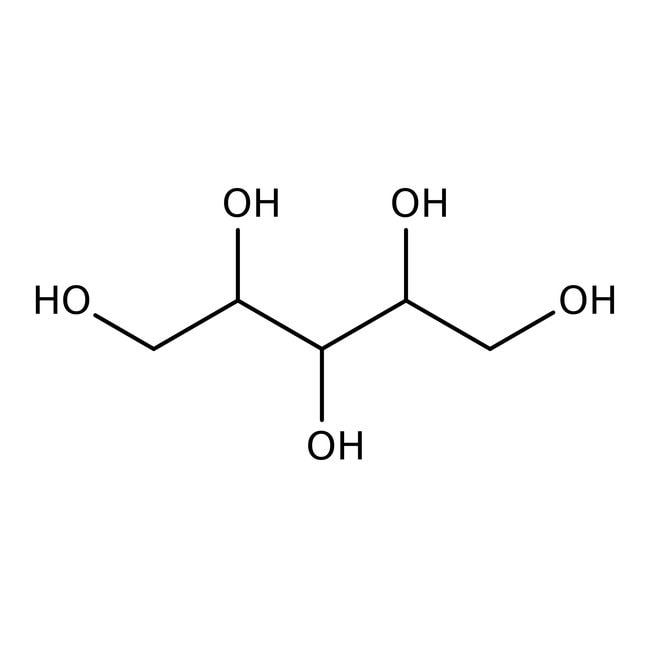 Alfa Aesar™D-(+)-Arabitol, 99% 25g Alfa Aesar™D-(+)-Arabitol, 99%