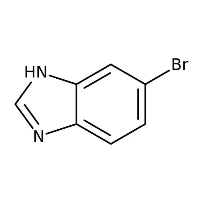 5-Bromo-1H-benzimidazole, 97%, Maybridge™ Amber Glass Bottle; 1g 5-Bromo-1H-benzimidazole, 97%, Maybridge™