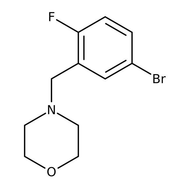 Alfa Aesar™4-(5-Bromo-2-fluorobenzyl)morpholine, 96% 250mg Alfa Aesar™4-(5-Bromo-2-fluorobenzyl)morpholine, 96%