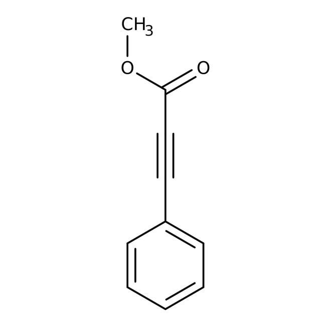 Methyl phenylpropiolate, 98%, ACROS Organics™ 5g; Glass bottle Methyl phenylpropiolate, 98%, ACROS Organics™
