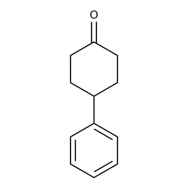 Alfa Aesar™4-Phenylcyclohexanone, 98+% 25g Alfa Aesar™4-Phenylcyclohexanone, 98+%