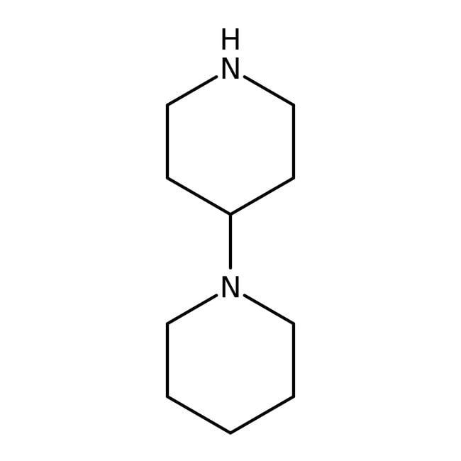 Alfa Aesar™1,4'-Bipiperidine, 99% 25g Alfa Aesar™1,4'-Bipiperidine, 99%