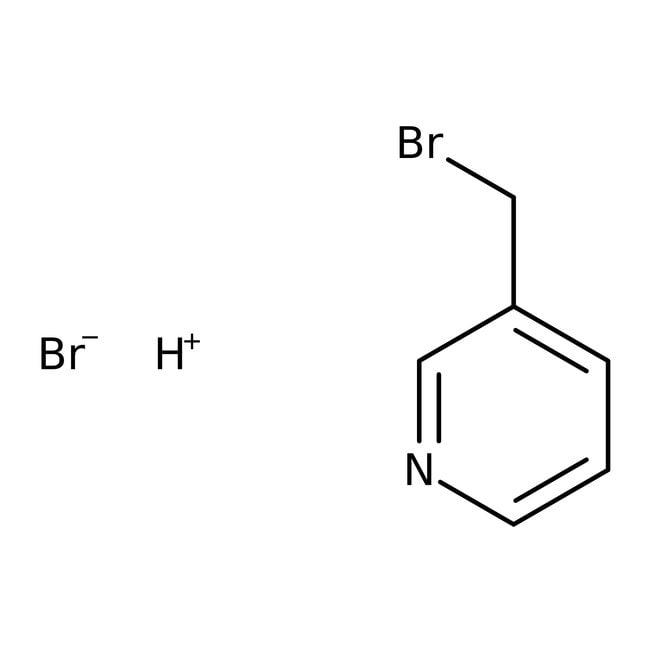 3-(Bromomethyl)pyridine hydrobromide, 97%, ACROS Organics™ 5g 3-(Bromomethyl)pyridine hydrobromide, 97%, ACROS Organics™