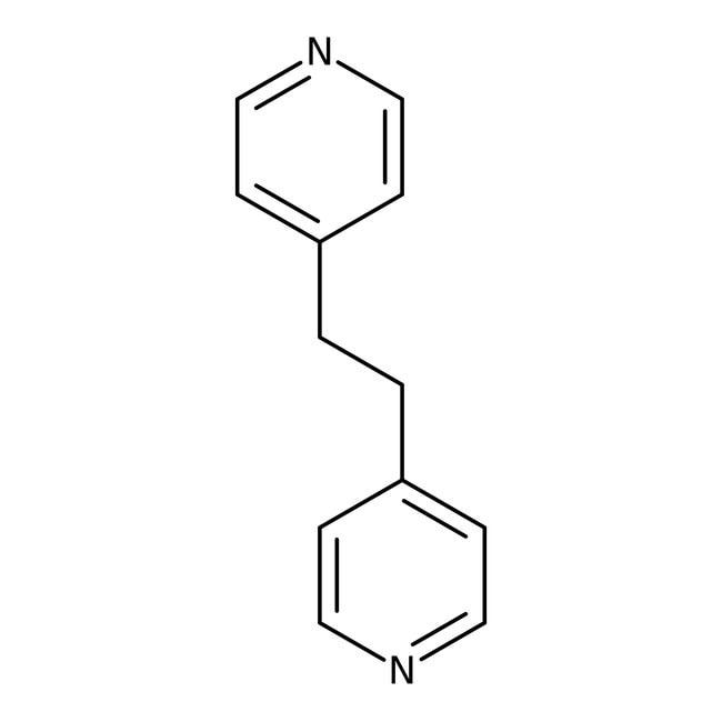 1,2-Bis(4-pyridyl)ethane, 97%, ACROS Organics™ 1g; Glass bottle 1,2-Bis(4-pyridyl)ethane, 97%, ACROS Organics™
