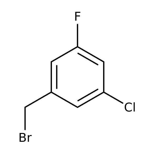 Alfa Aesar™ 3-Chloro-5-fluorobenzyl bromide, 97%: Benzyl halides Benzene and substituted derivatives