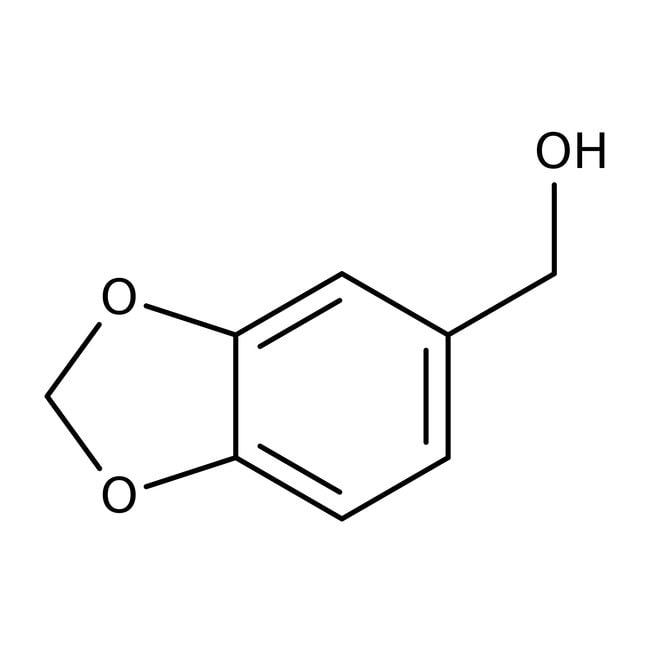 Piperonyl alcohol, 98%, ACROS Organics