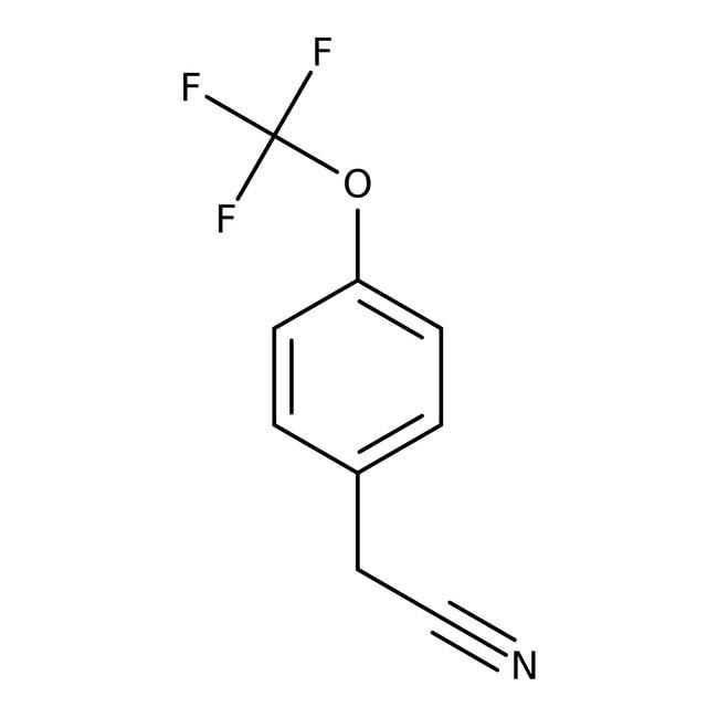 4-(Trifluoromethoxy)phenylacetonitrile, 98%, ACROS Organics