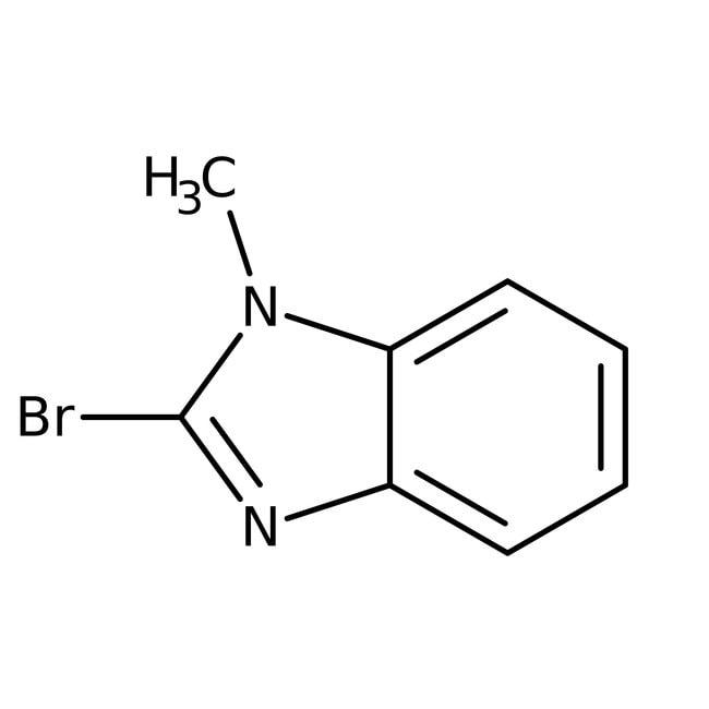 Alfa Aesar™2-Brom-1-methylbenzimidazol, 97% 5g Alfa Aesar™2-Brom-1-methylbenzimidazol, 97%