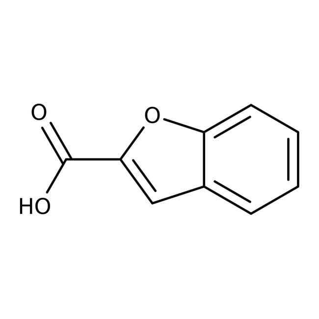 Benzo[b]furan-2-carboxylic acid, 98%, ACROS Organics™ Glass bottle; 1g Benzo[b]furan-2-carboxylic acid, 98%, ACROS Organics™