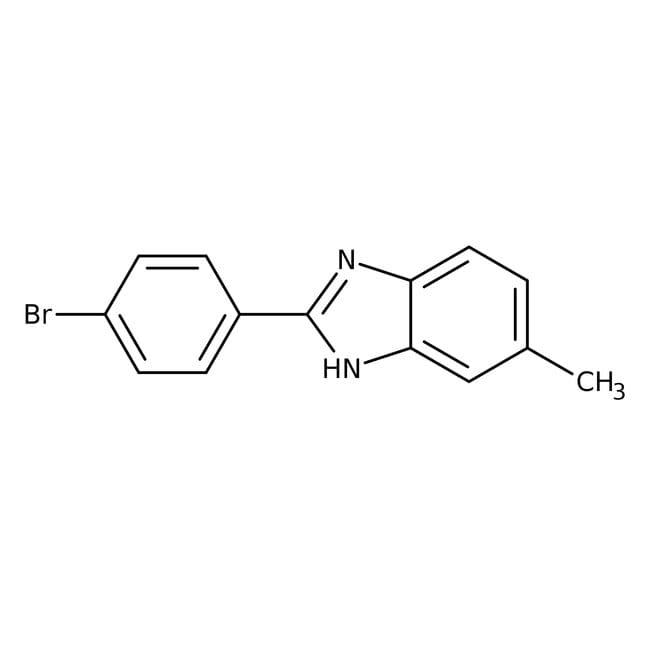 Alfa Aesar™2-(4-Bromophenyl)-5-methylbenzimidazole, 95% 1g Alfa Aesar™2-(4-Bromophenyl)-5-methylbenzimidazole, 95%