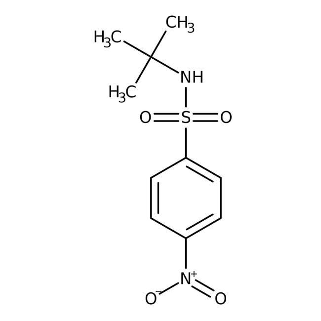 Alfa Aesar™N-tert-Butyl-4-nitrobenzenesulfonamide, 97% 100mg Alfa Aesar™N-tert-Butyl-4-nitrobenzenesulfonamide, 97%