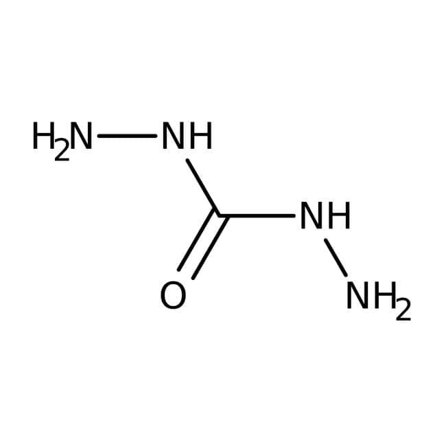 Carbohydrazide, 97%, ACROS Organics™ 500g; Glass bottle Carbohydrazide, 97%, ACROS Organics™