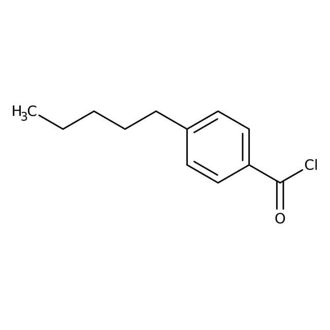 Alfa Aesar™Cloruro de 4-n-pentilbenzoilo, 98% 25g Alfa Aesar™Cloruro de 4-n-pentilbenzoilo, 98%