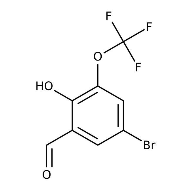 Alfa Aesar™5-Brom-3-(trifluoromethoxy)salicylaldehyd, 99% 1g Alfa Aesar™5-Brom-3-(trifluoromethoxy)salicylaldehyd, 99%