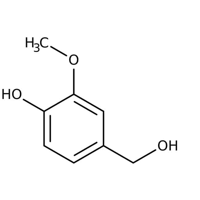 4-Hydroxy-3-methoxybenzyl alcohol, 99%, ACROS Organics