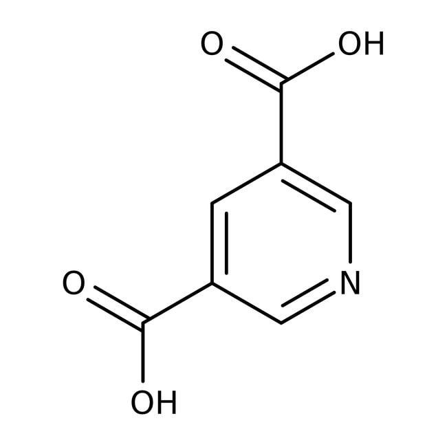 3,5-Pyridinedicarboxylic acid, 98%, ACROS Organics™ 50g; Glass bottle 3,5-Pyridinedicarboxylic acid, 98%, ACROS Organics™