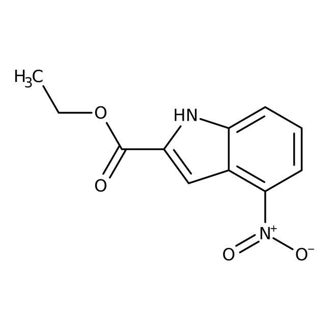 Alfa Aesar™Ethyl 4-nitroindole-2-carboxylate, 97%