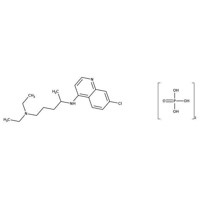 Alfa Aesar™Chloroquindiphosphatsalz, 98% 100g Alfa Aesar™Chloroquindiphosphatsalz, 98%