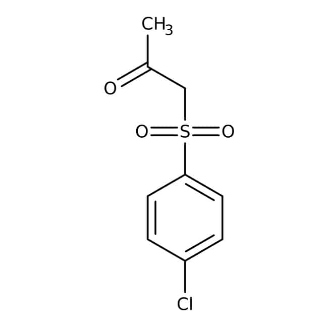 1-[(4-chlorophenyl)sulfonyl]acetone, Maybridge™ Amber Glass Bottle; 25g 1-[(4-chlorophenyl)sulfonyl]acetone, Maybridge™