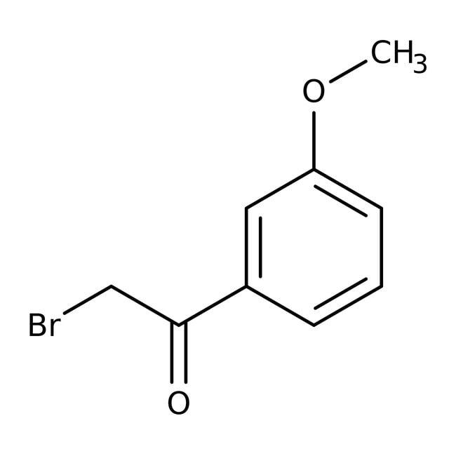 2-Bromo-3'-methoxyacetophenone, 97%, ACROS Organics™