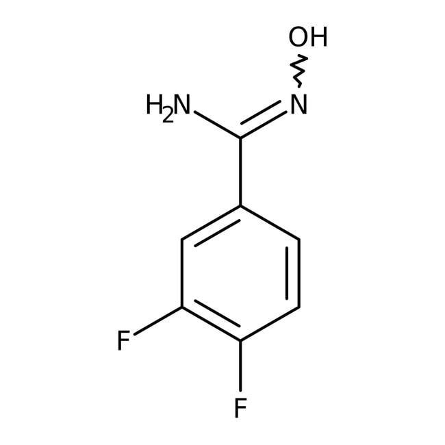 Alfa Aesar™3,4-Difluorobenzamidoxime, 97%
