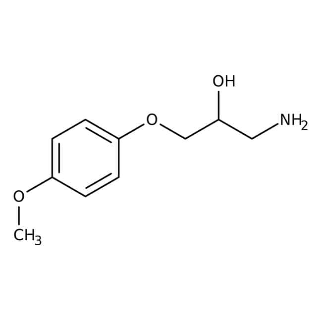 1-Amino-3-(4-methoxyphenoxy)propan-2-ol, ≥95%, Maybridge