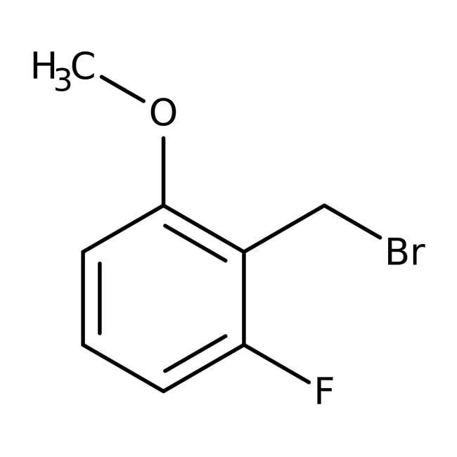 Alfa Aesar™2-Fluoro-6-methoxybenzyl bromide, 98% 250mg Alfa Aesar™2-Fluoro-6-methoxybenzyl bromide, 98%