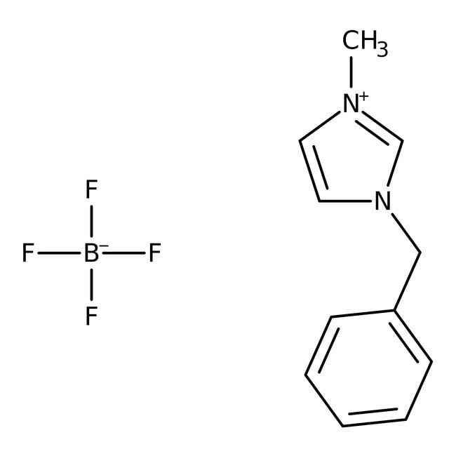Alfa Aesar™1-Benzyl-3-methylimidazolium tetrafluoroborate, 97% 50g Alfa Aesar™1-Benzyl-3-methylimidazolium tetrafluoroborate, 97%