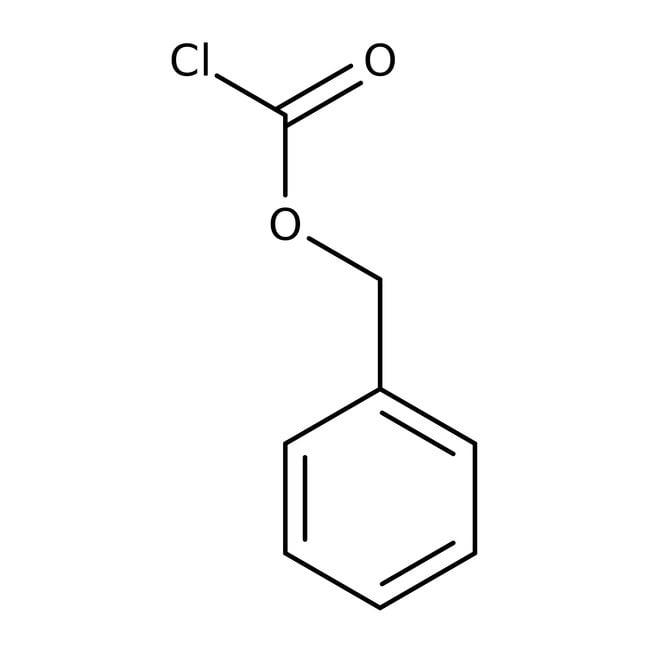 Benzyl chloroformate, 3M (50 wt%) solution in toluene, ACROS Organics™