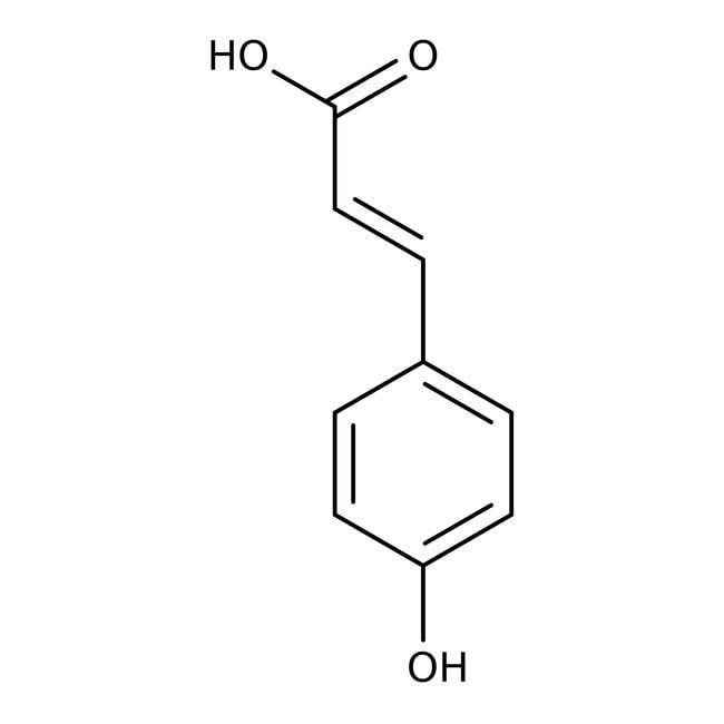 p-Hydroxycinnamic acid, 98%, predominantly trans, ACROS Organics™
