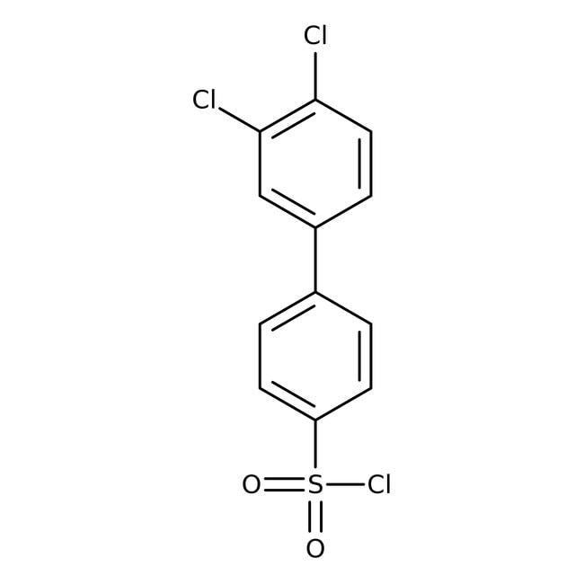 3',4'-Dichlorobiphenyl-4-sulfonyl chloride, 95%, ACROS Organics™ 1g 3',4'-Dichlorobiphenyl-4-sulfonyl chloride, 95%, ACROS Organics™