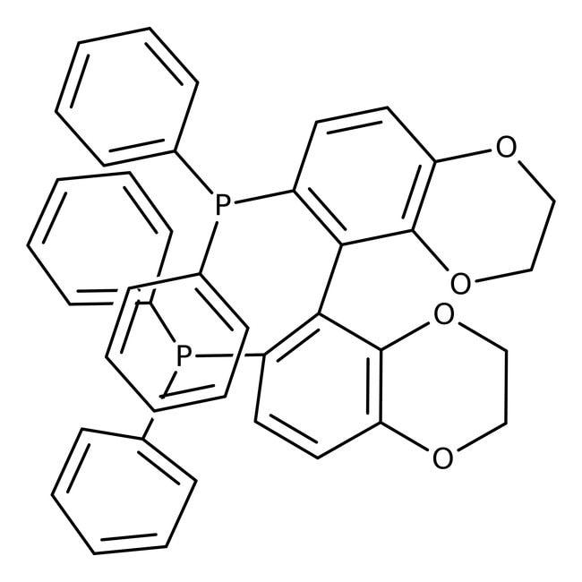 (s)-(-)-[(5,6),(5',6')-bis(ethylenedioxy)biphenyl-2,2'-diyl](diphenylphosphine), 98%, ACROS Organics