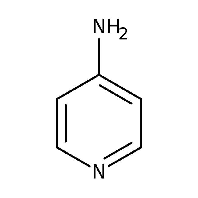 4-aminopyridine, 98%, ACROS Organics™ 25g; flacon en verre 4-aminopyridine, 98%, ACROS Organics™