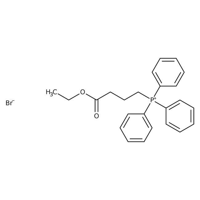 (3-Ethoxycarbonylpropyl)triphenylphosphonium bromide, 97%, ACROS Organics